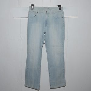 Chico's marquis womens jeans size 1 R 9204